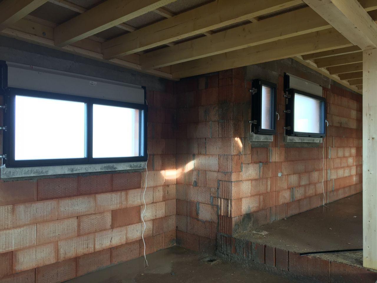 Fenêtres granitées salle de bain et salle d?eau