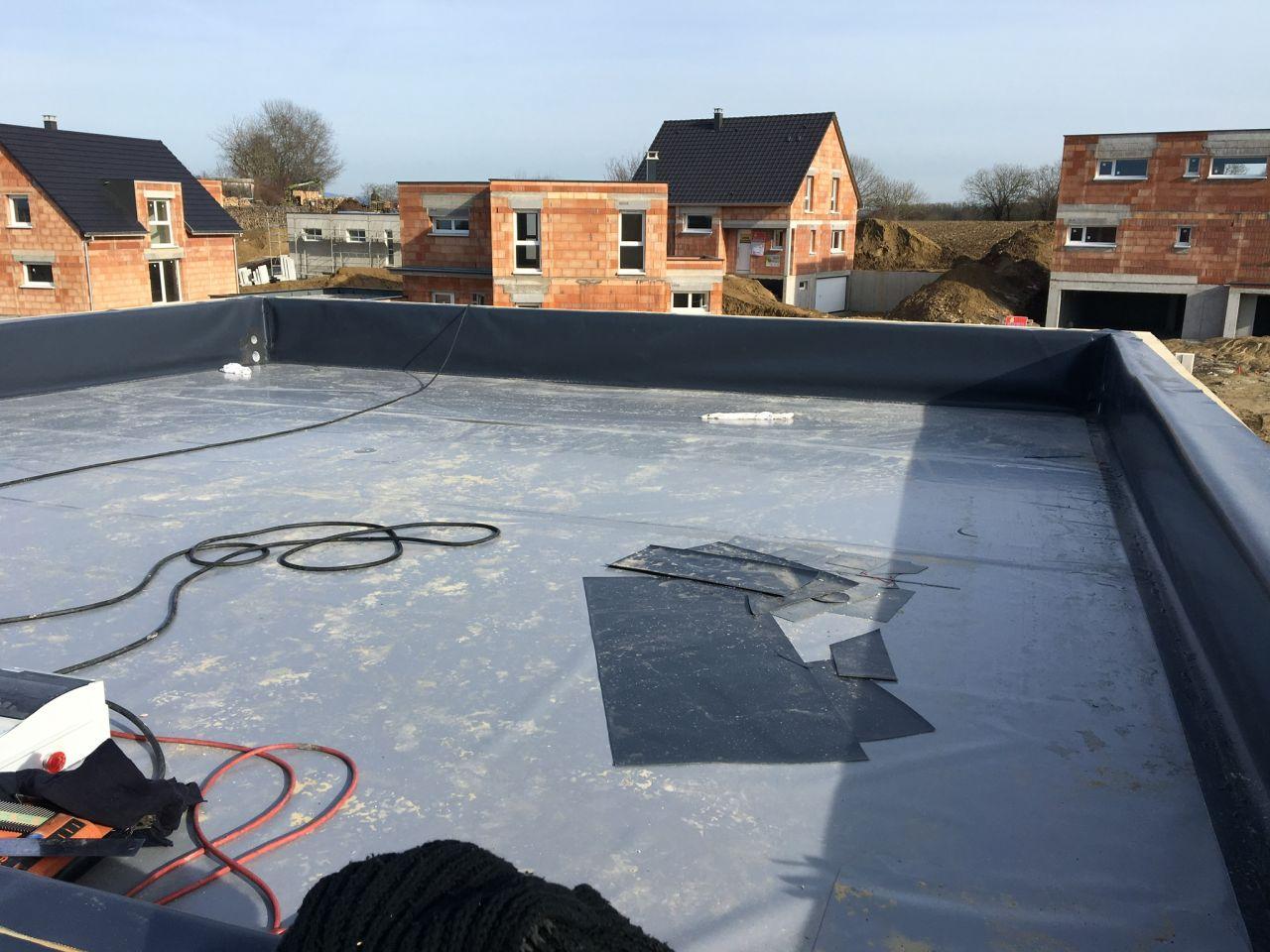 Isolation toit terrasse style liner