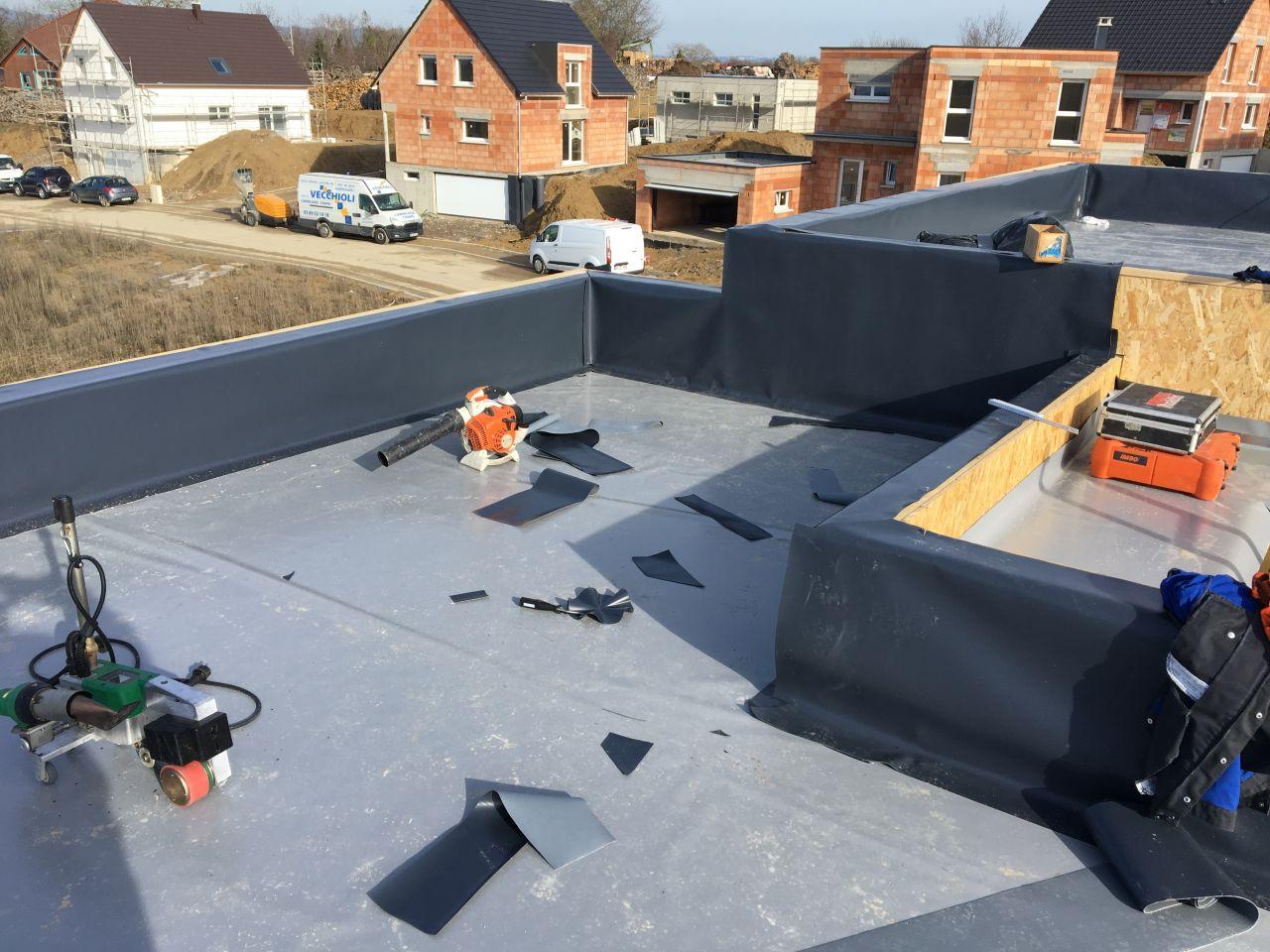 Isolation toit terrasse