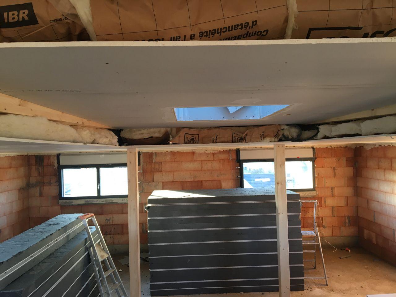 Isolation plafond