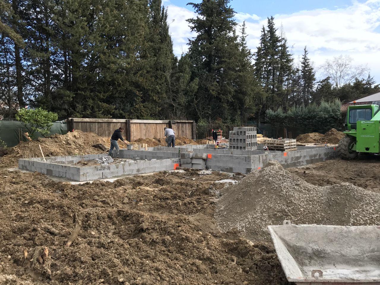 Vide sanitaire en construction