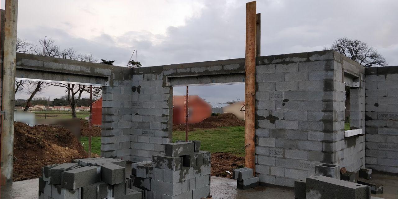 Élévation des murs (Jour 6 et 7)