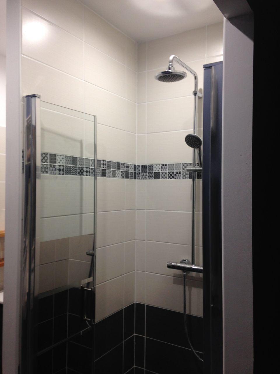 La douche des garçons .... fait maison !