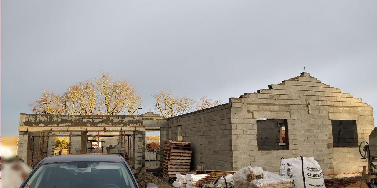 Élévation des murs (Jour 8)