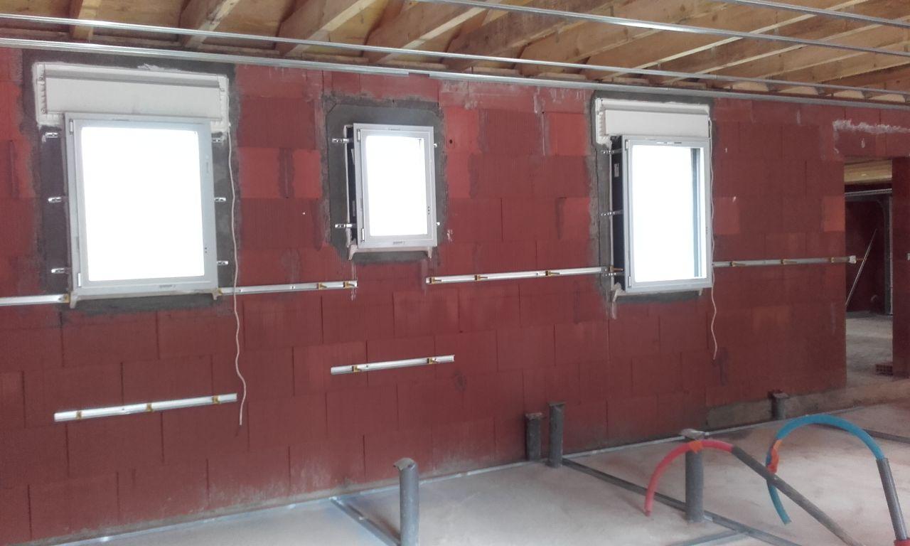 Fenêtres SDB,WC et Bureau
