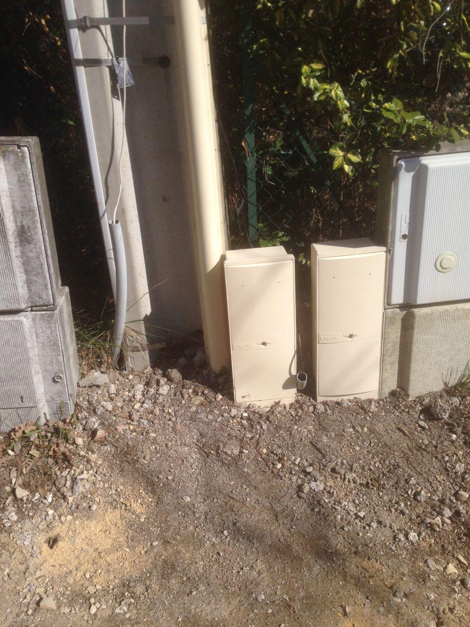 Installation compteur éléctrique