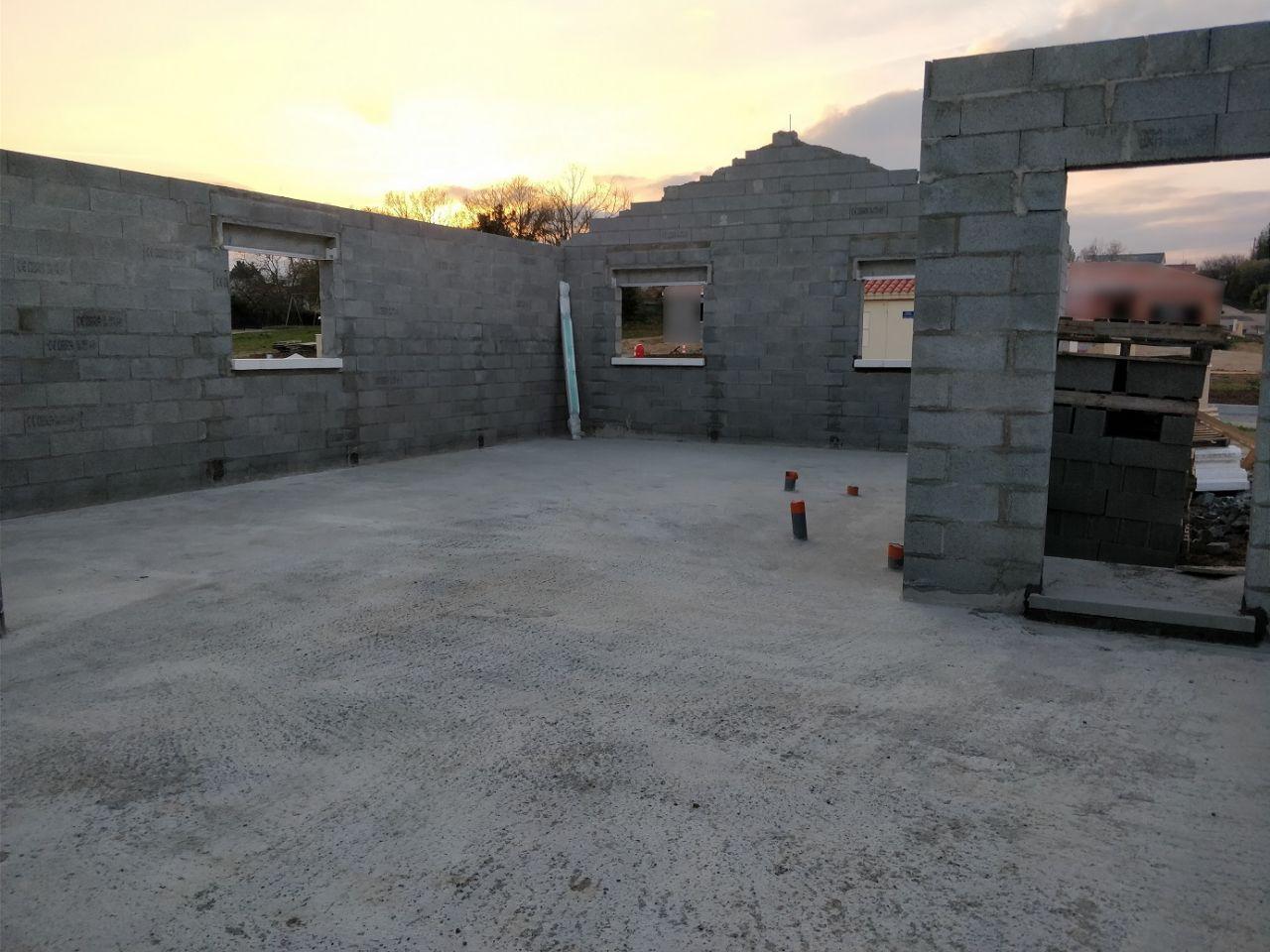 Élévation des murs (Jour 9)