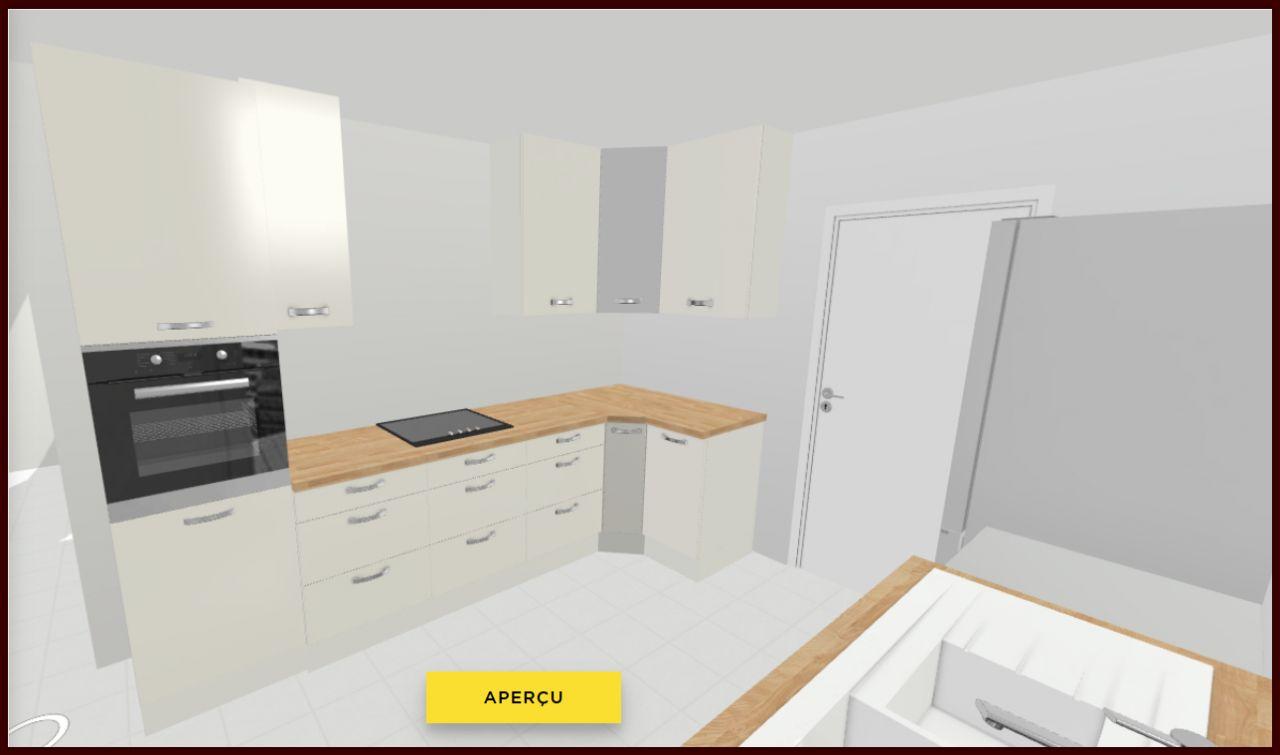 Simulation de la cuisine.