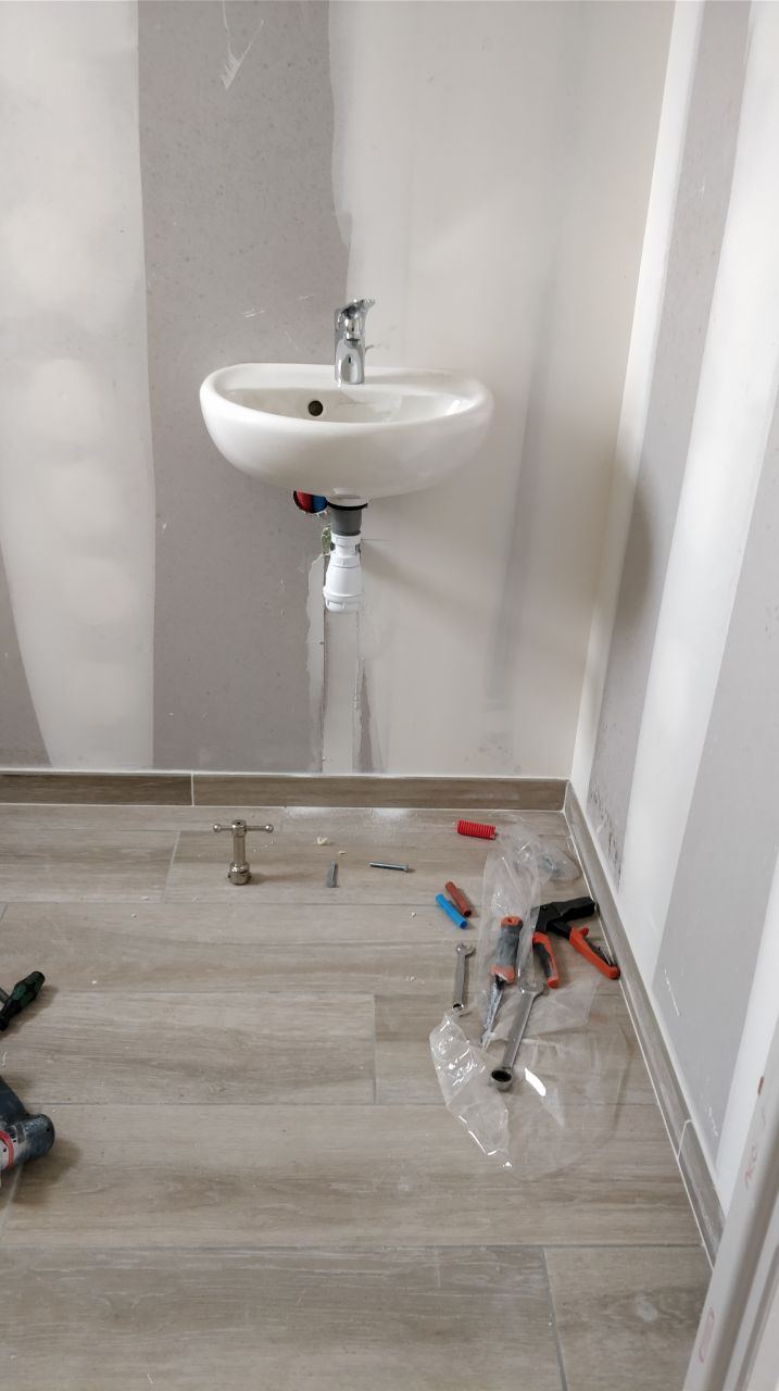 Lave main WC, petit luxe