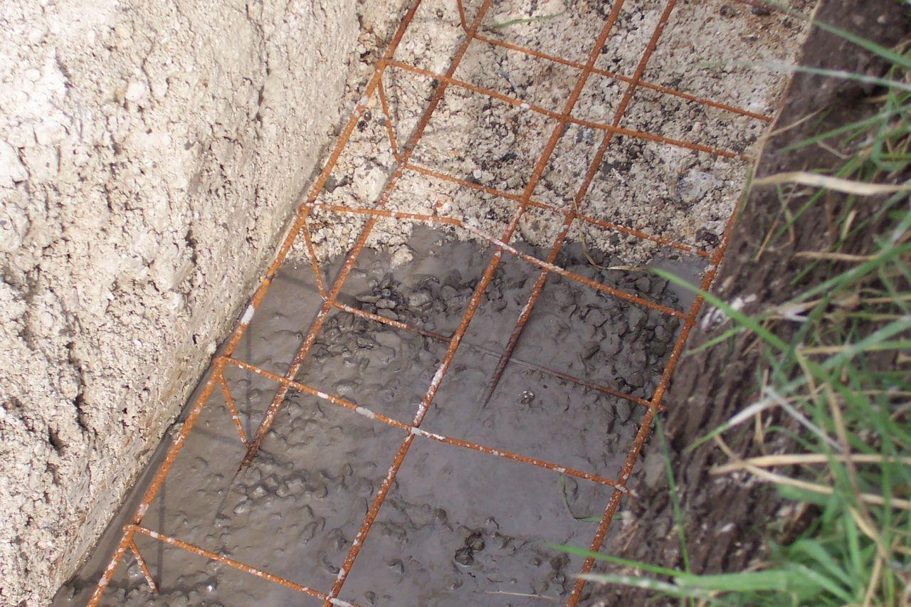 Les semelles et le coulage du béton des fondations