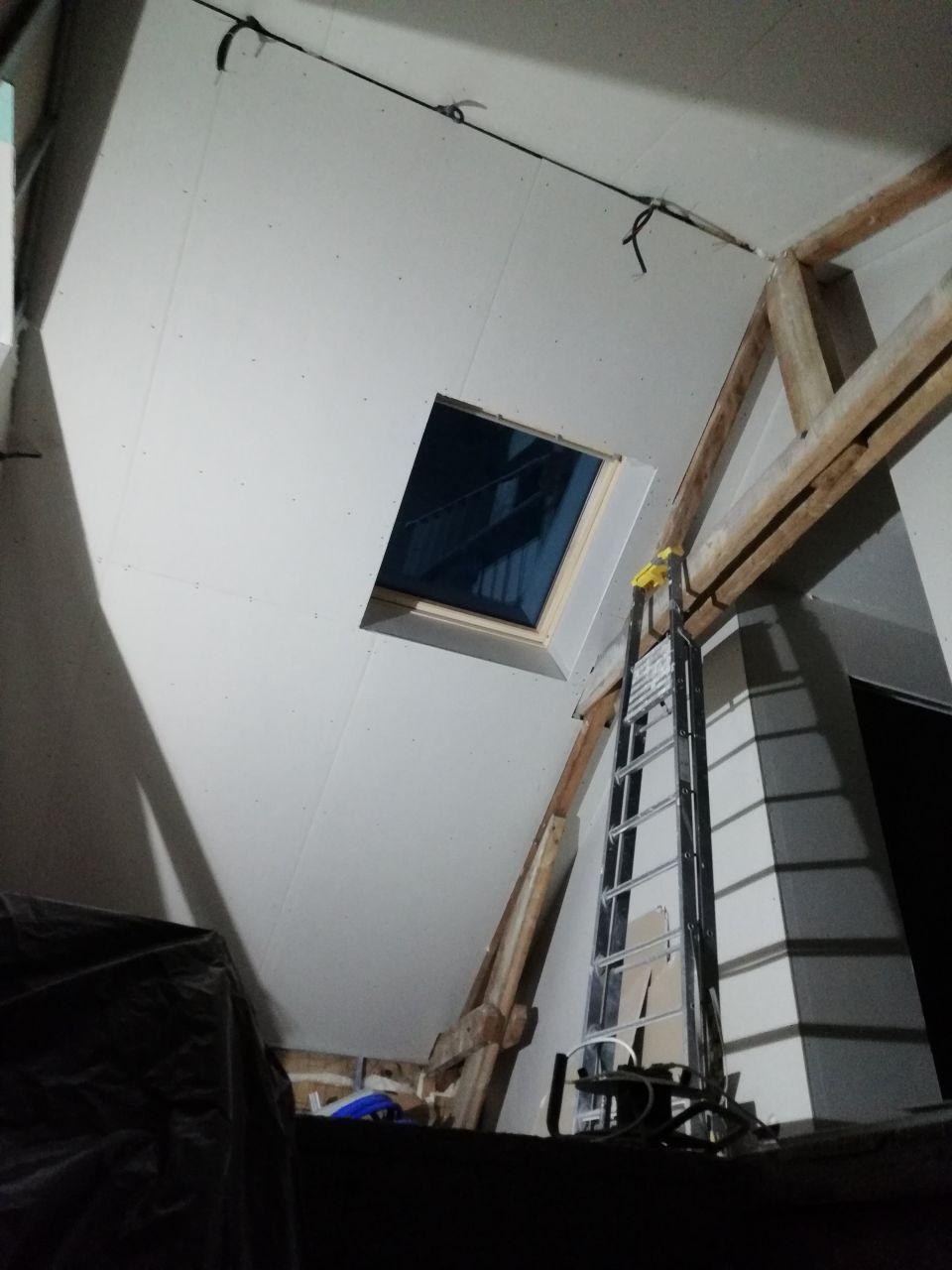 Velux etage vu du rdc