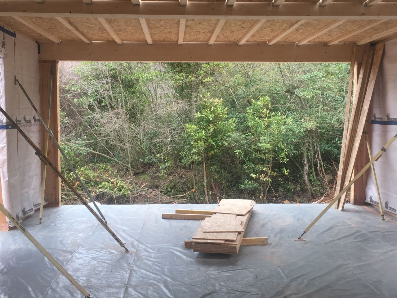 Ouverture baie vitrée