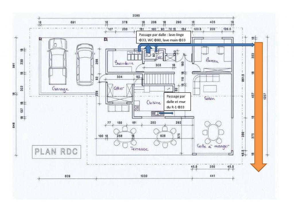 plan de maison tahitienne