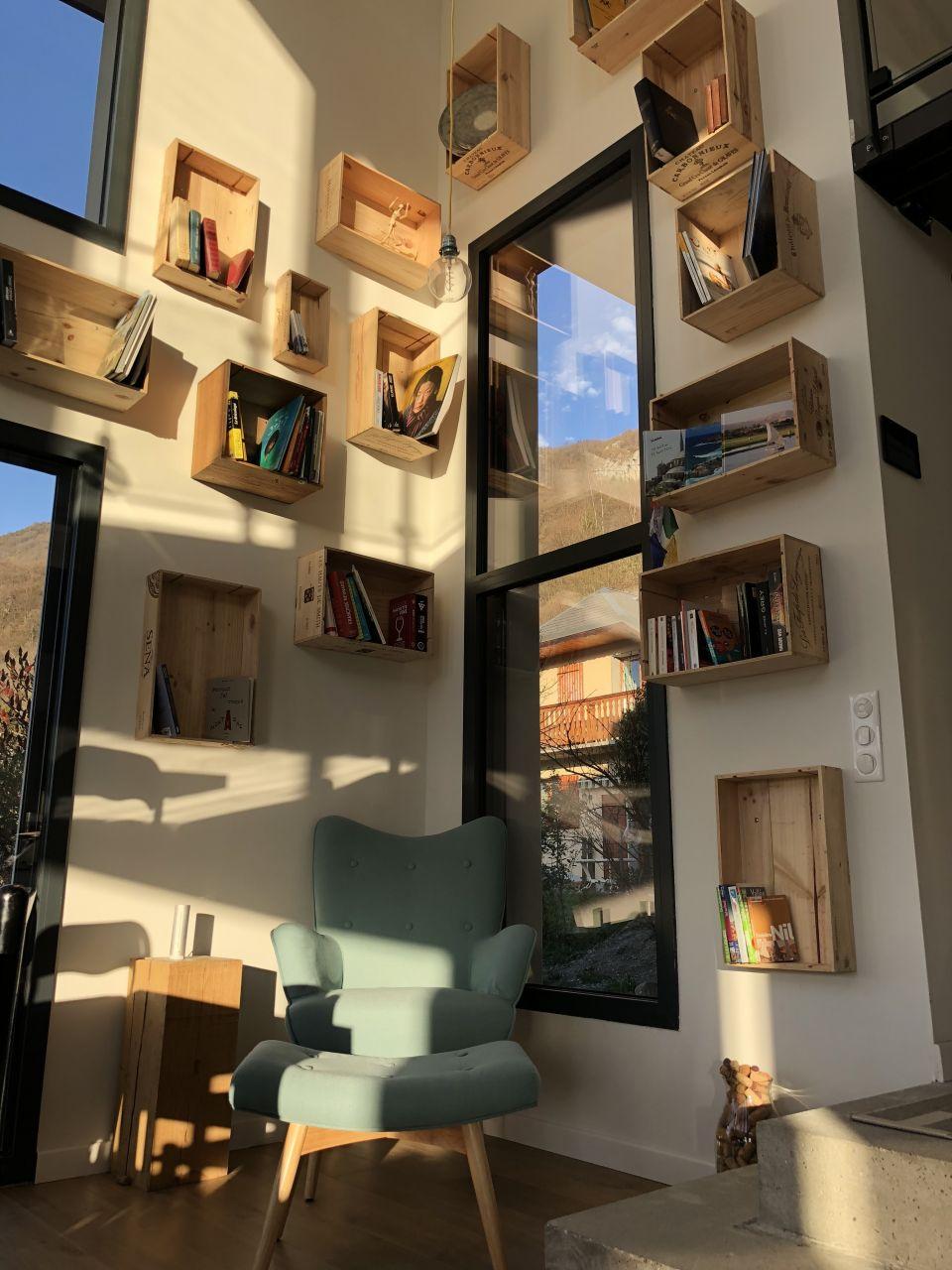 New bibliothèque
