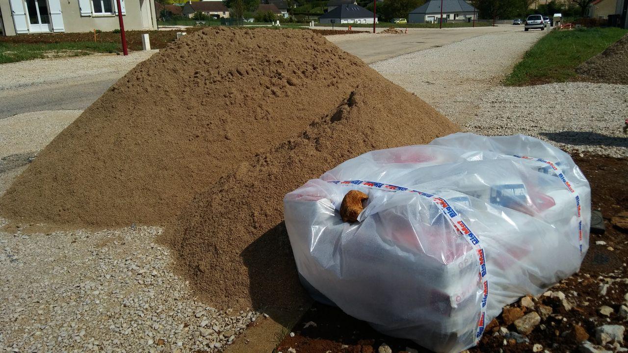 livraison matériaux vide sanitaire