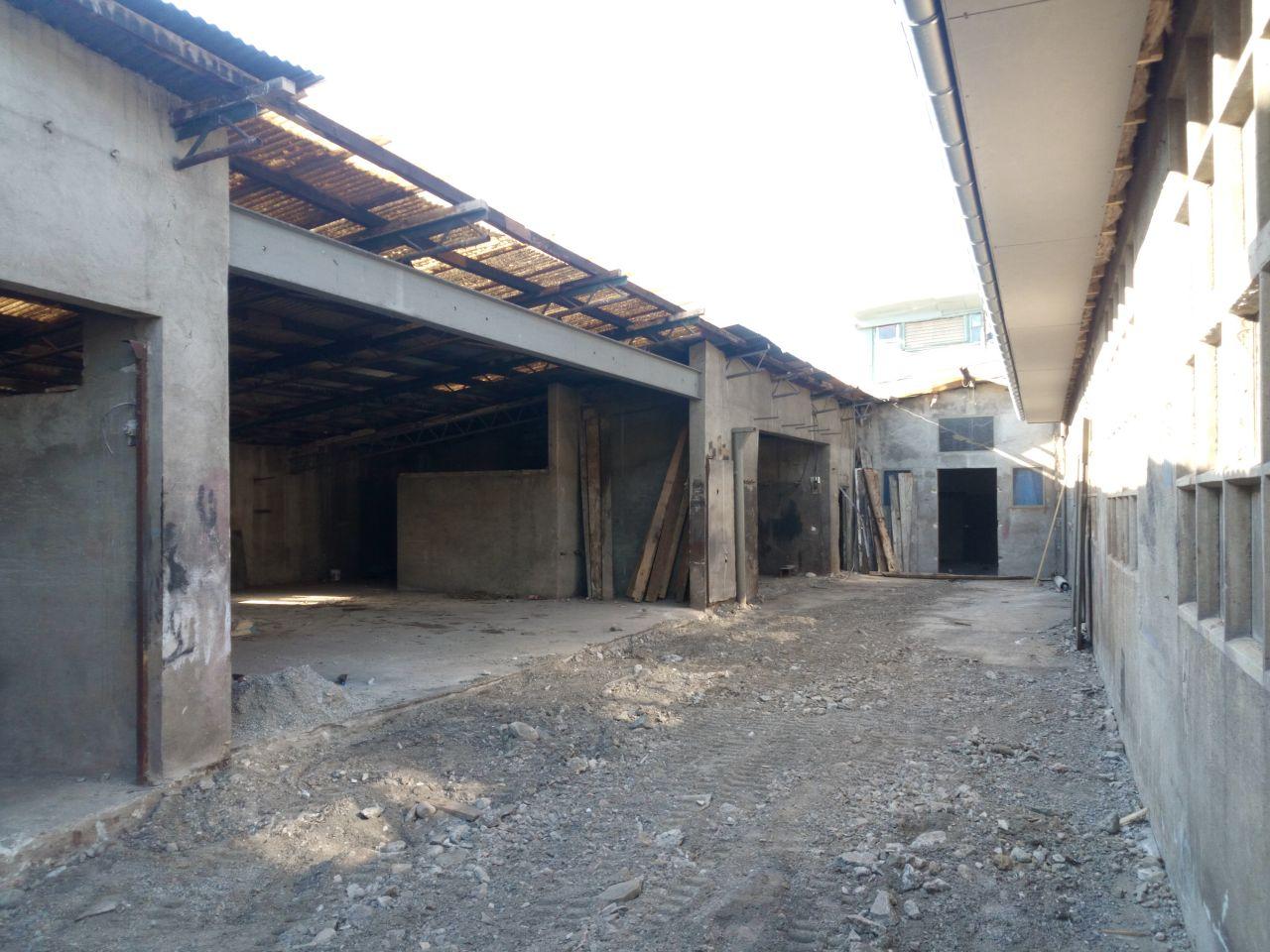 cour terrassée