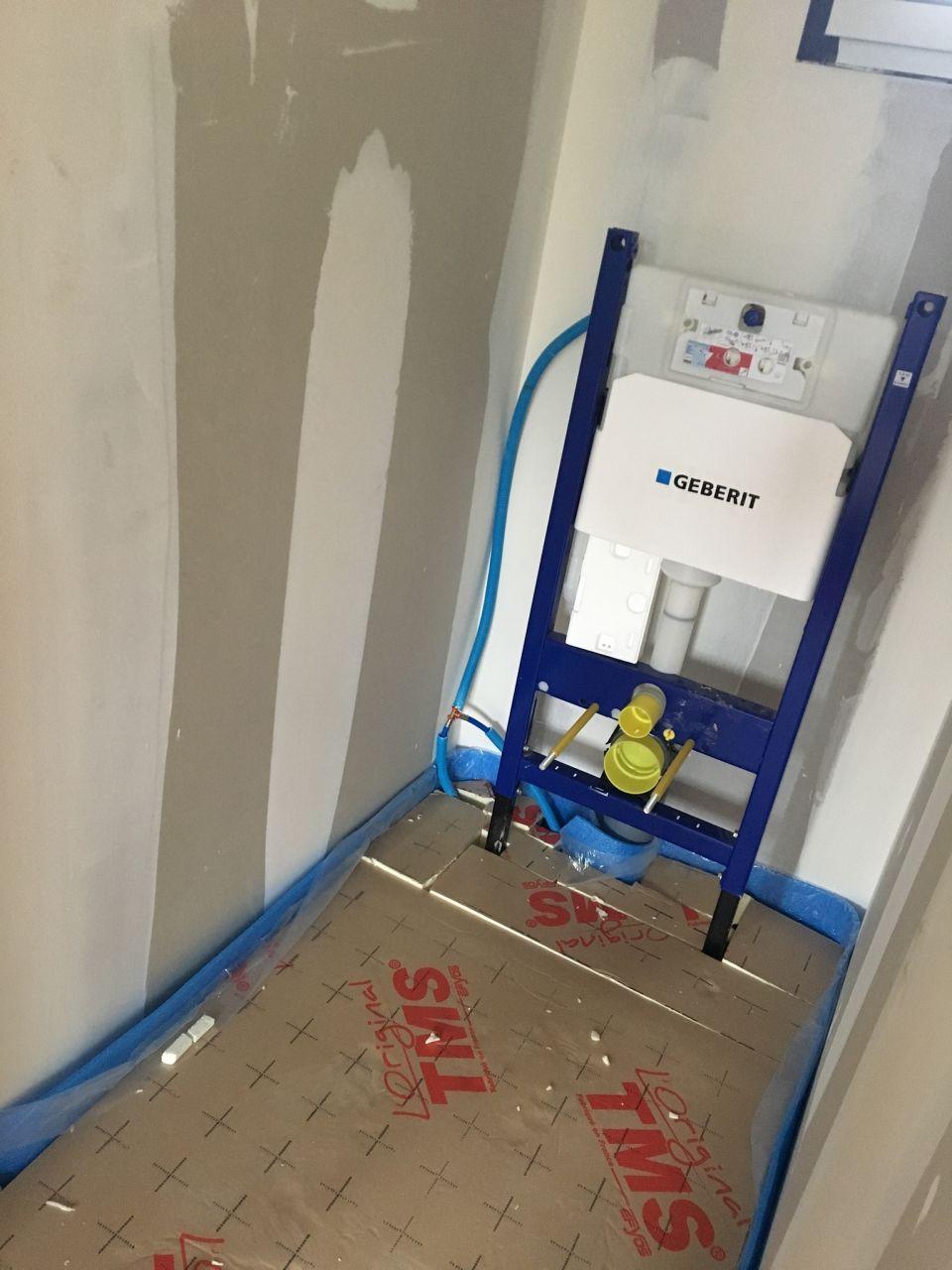 WC suspendus GEBERIT