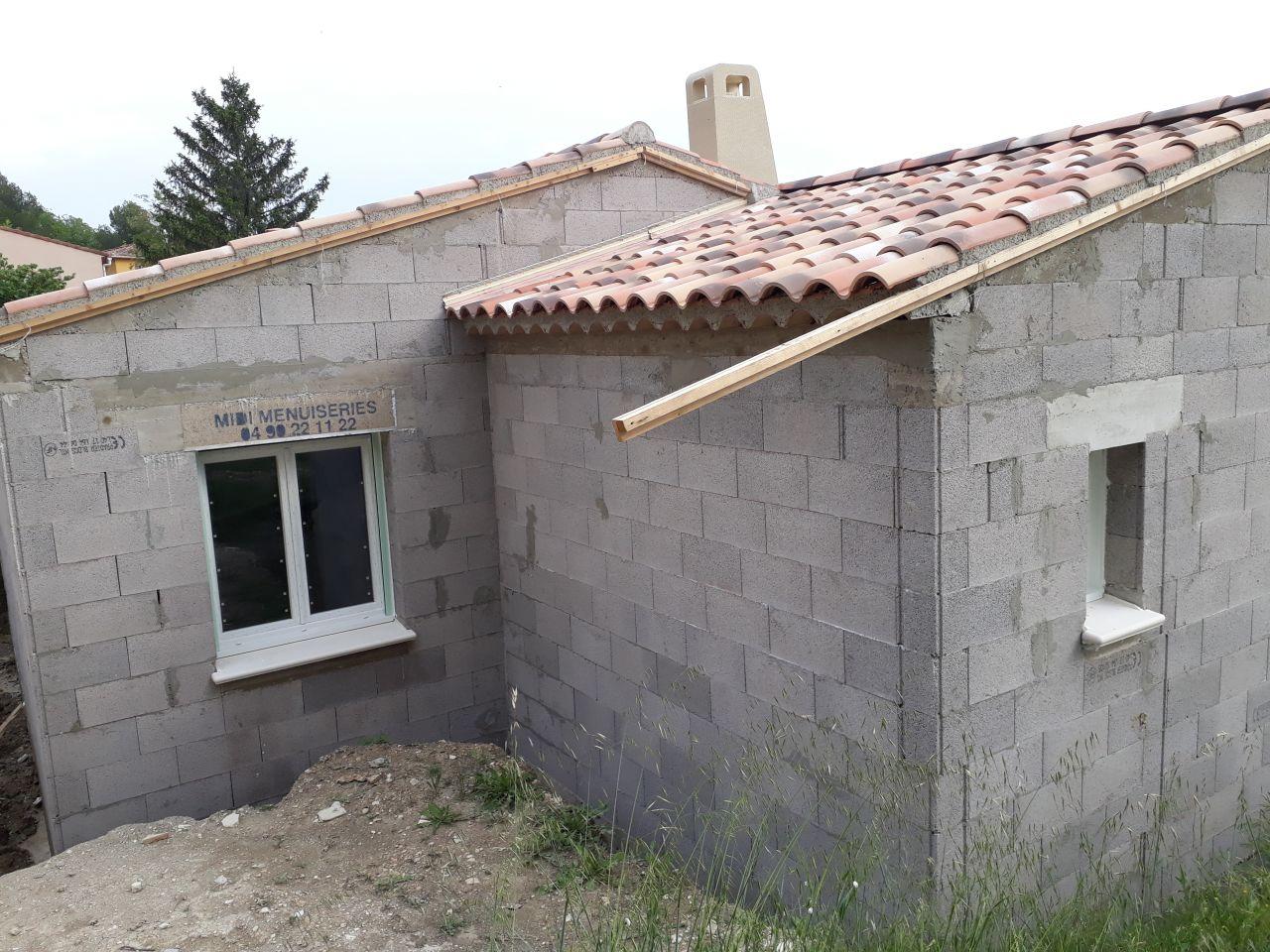 Menuiserie (façade ouest/garage)
