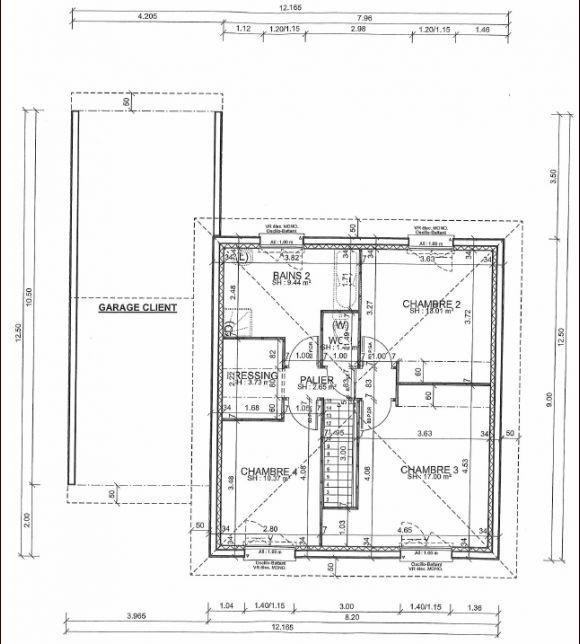 Plan du R+1 / NIV1