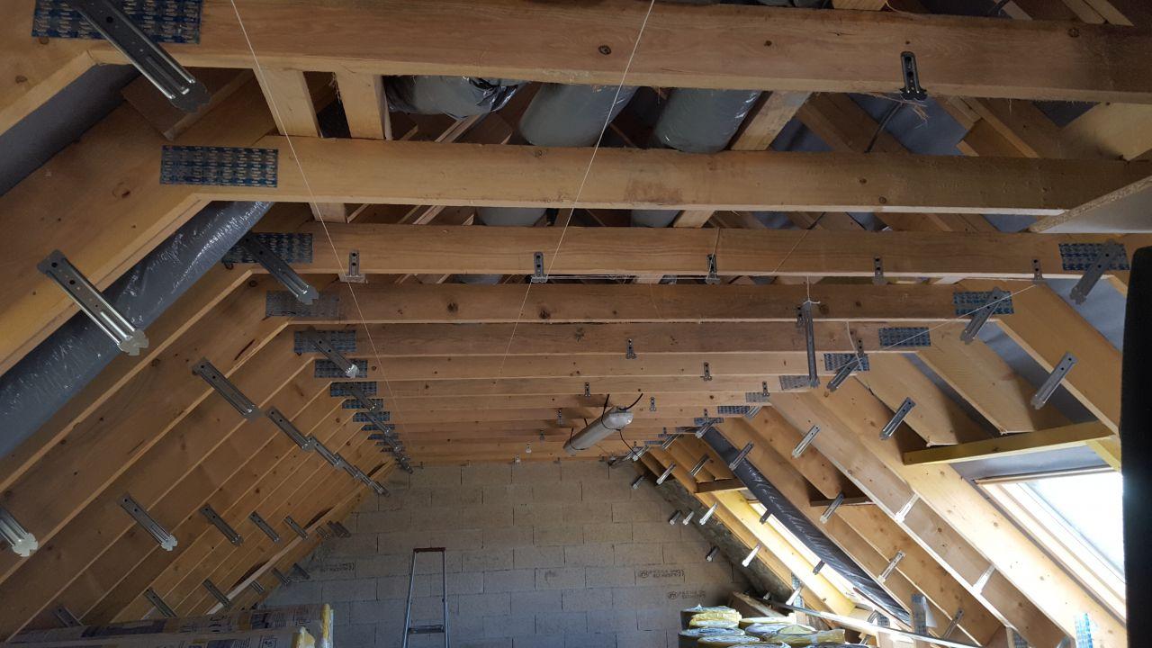 pose suspentes plafond