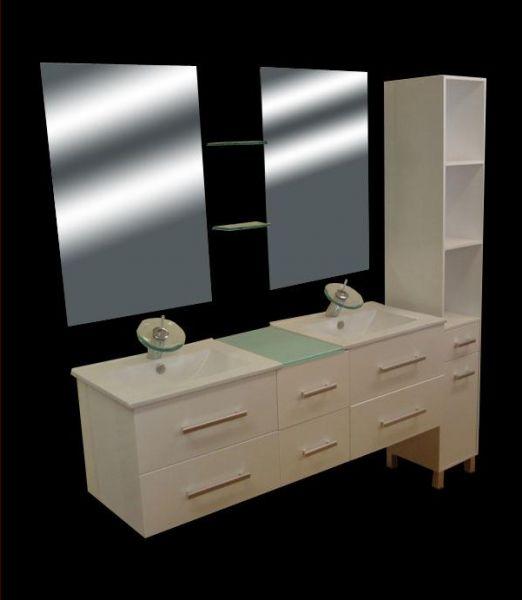Ameublement salle de bain - Construire un meuble de salle de bain ...