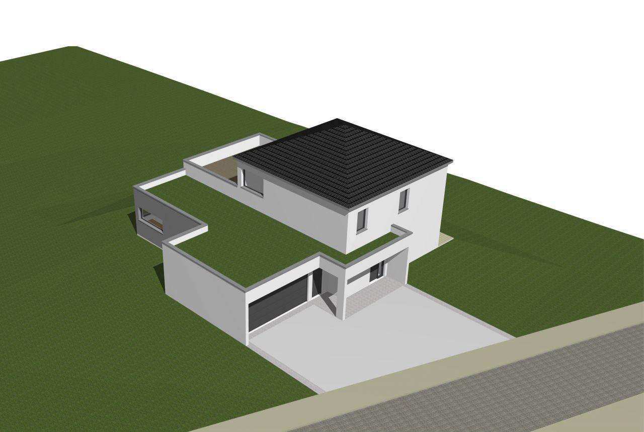 Nouvelle façade suite au refus de l'urbanissme