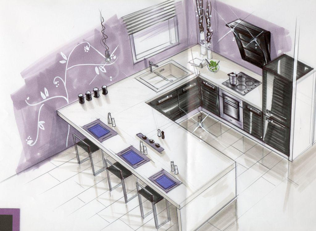 Baignoire la maison du bonheur dans le gard aigues for Cuisine 3d dessin