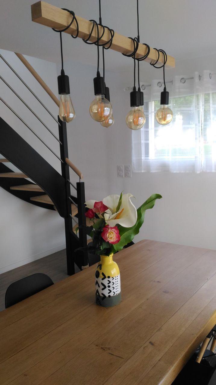 Bouquet cueilli par mon pitchoune avec sa mamie. 1er essai du vase. #étanchéitéàleau#ok#