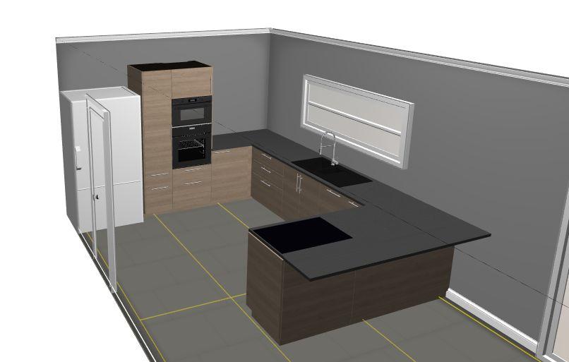 Plan de la cuisine Ikea