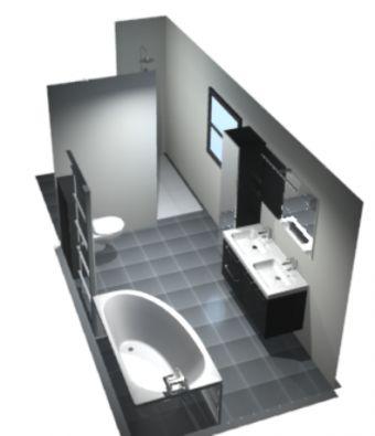 Simulation aménagement de la salle de bain