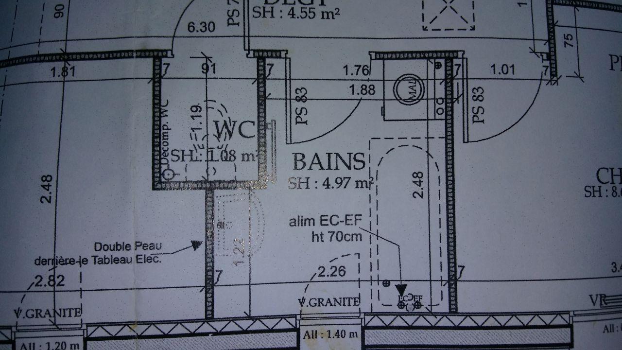 plan salle de bain non conforme