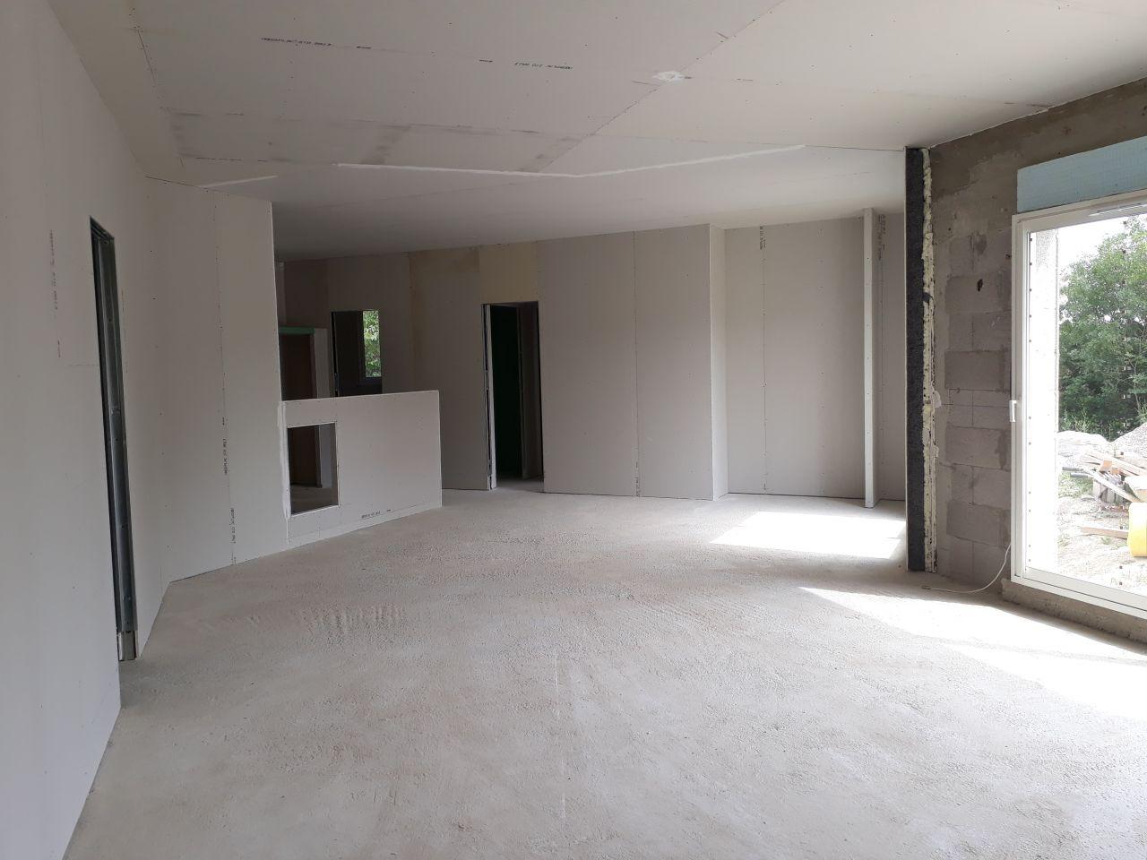 vue de la pièce à vivre.