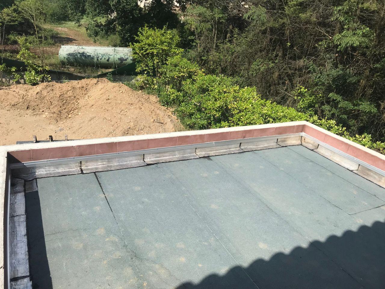 Etanchéité du toit terrasse du garage