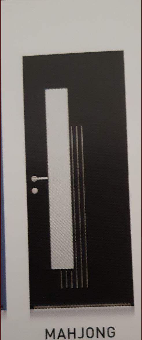 porte d'entrée modèle mahjong (elle sera blanche)