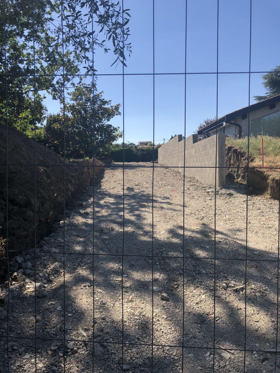 Mur de soutien mitoyen