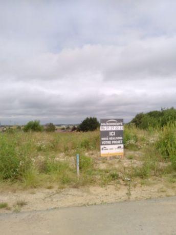 panneau maisonneuve sur terrain après visite terrain