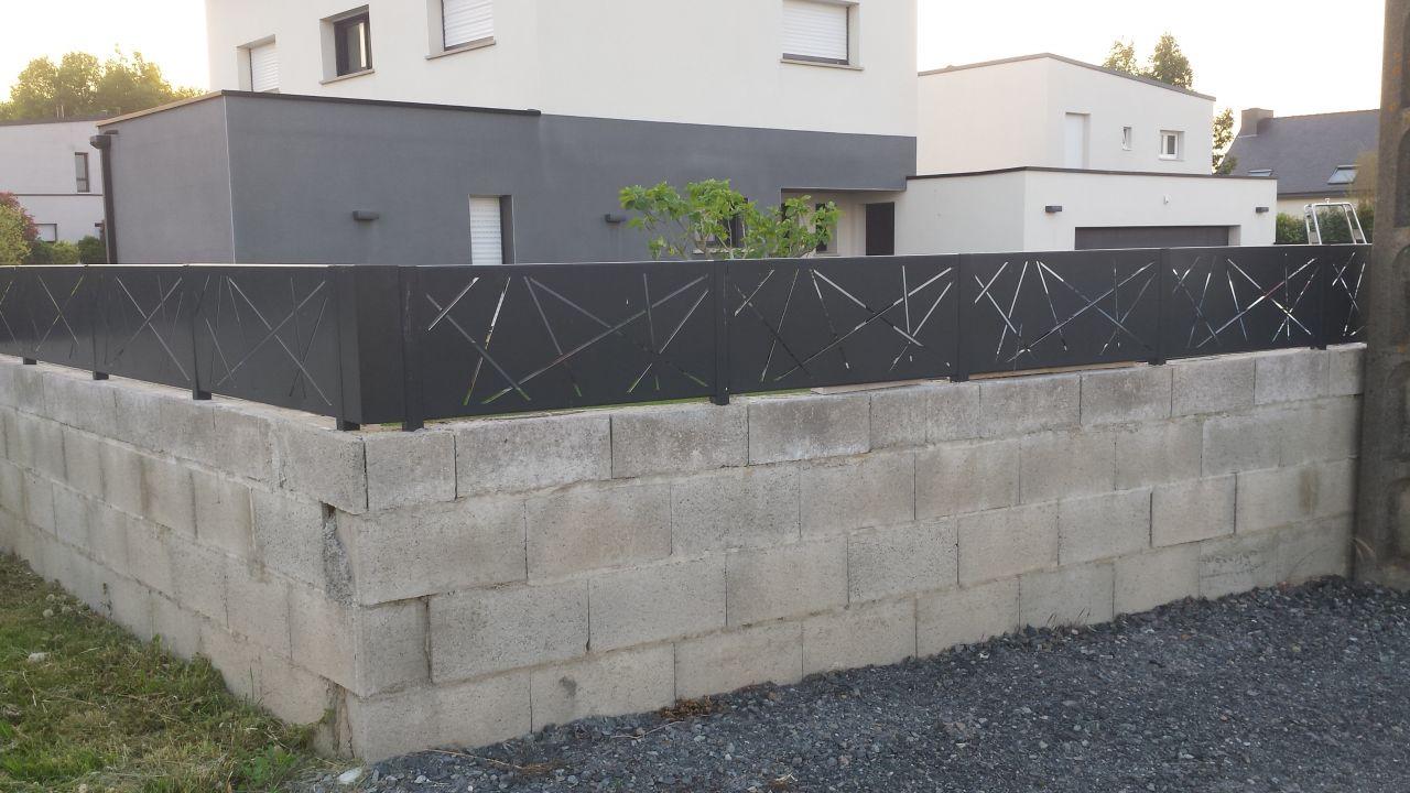 Hauteur Maximum Mur De Séparation cloture claire-voie et lourdeur administrative - 14 messages