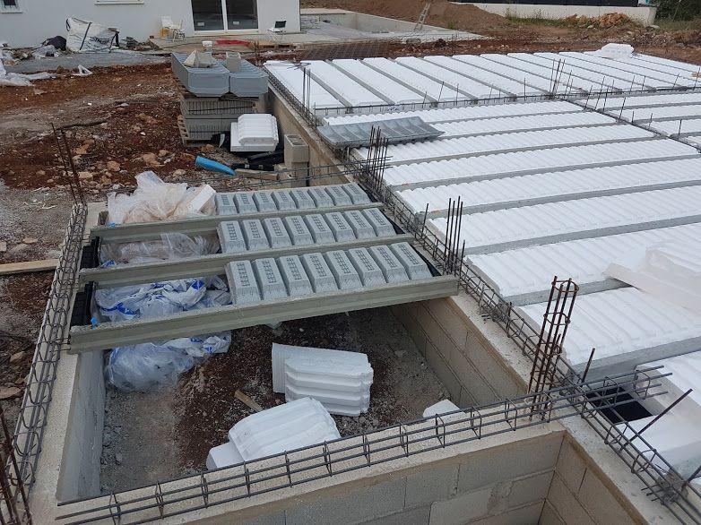 finition du vide sanitaire pour préparation de la dalle (plancher).