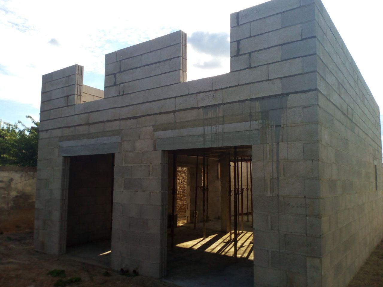 élévation des murs 1er étage