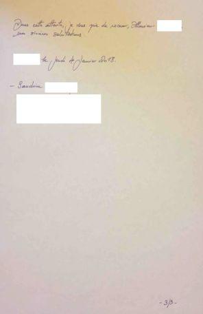 electricien abandon de chantier 01/2018 courrier recommandé 3/3
