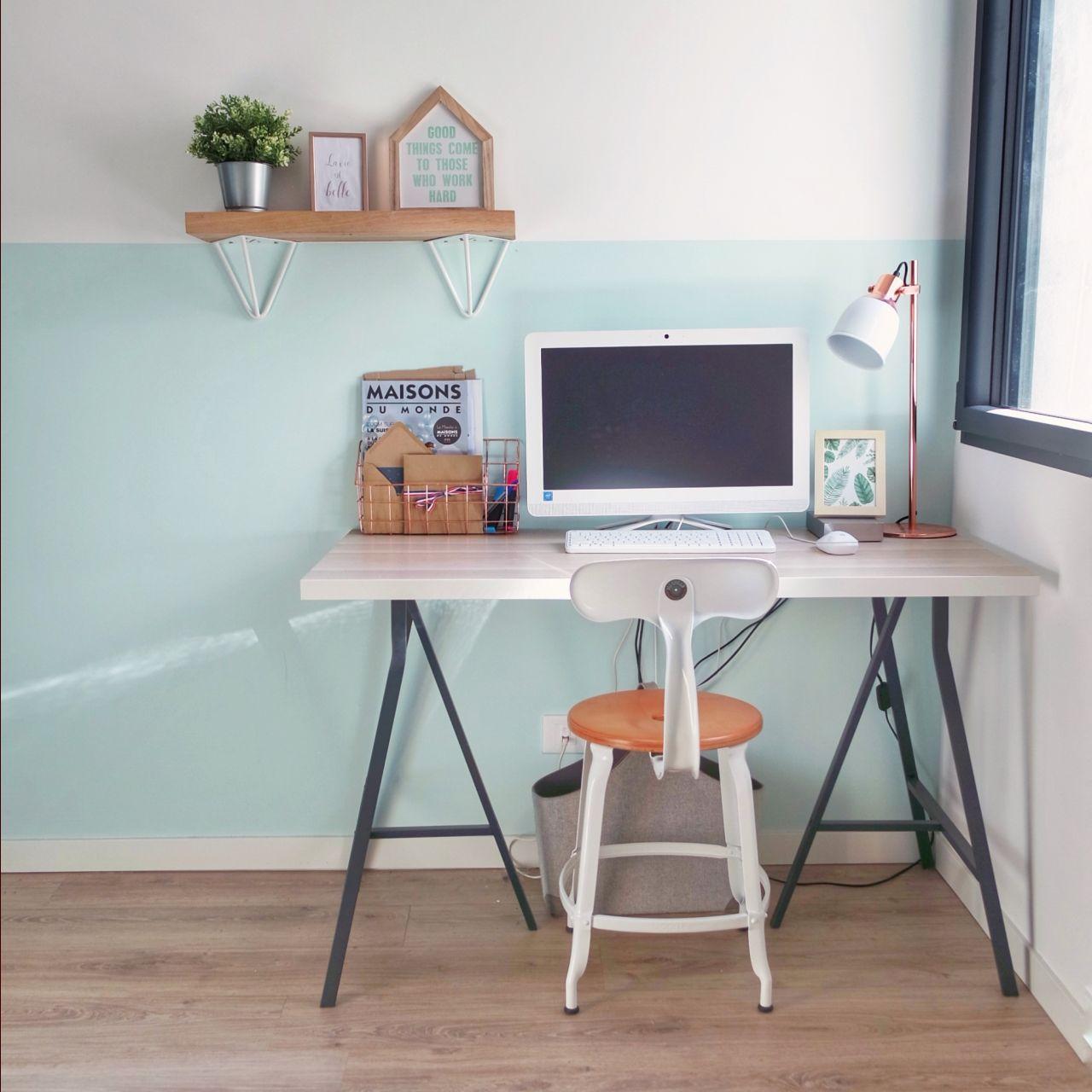 Bureau en place