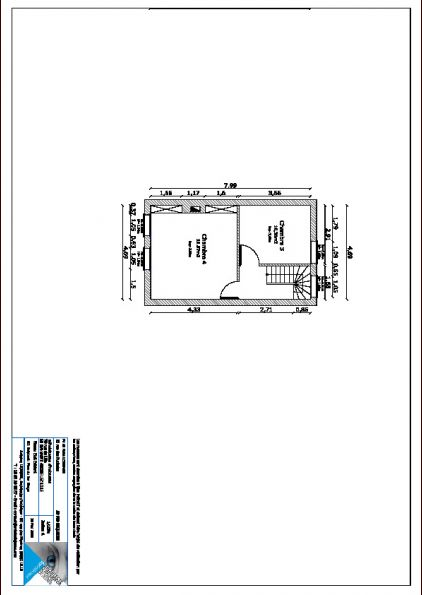 Plan actuel 1er étage