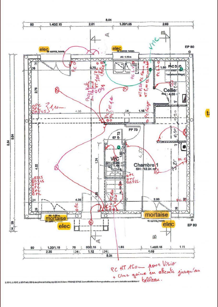plan  electrique
