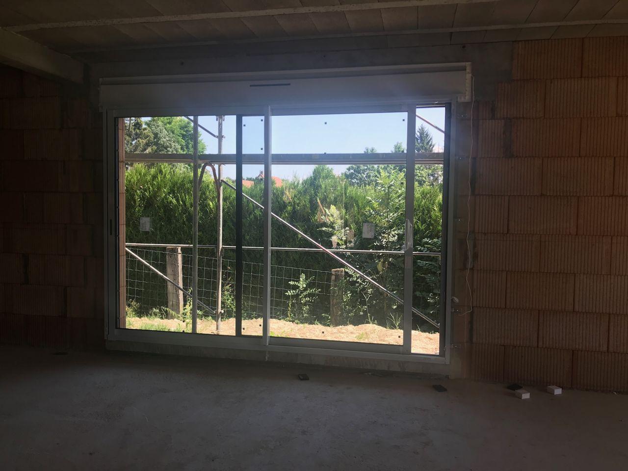 seconde baie vitrée 3m salon/séjour