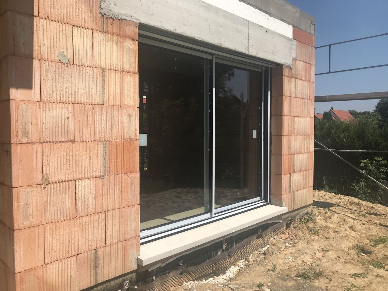 baie vitrée 2.60m cuisine