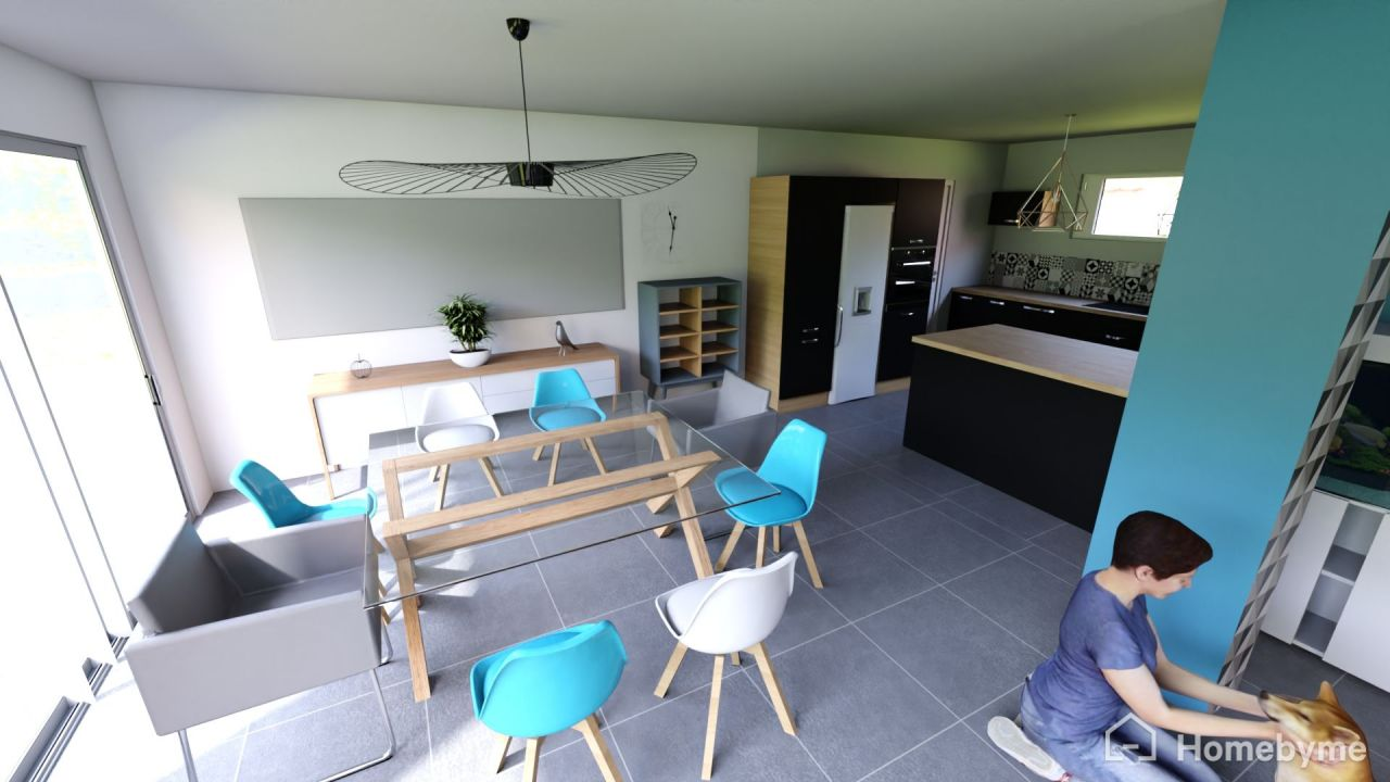 Visuel salle à manger - Homebyme