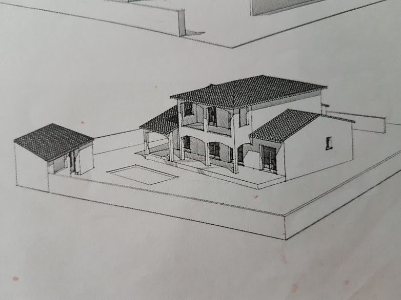 Rappel : vue de la maison