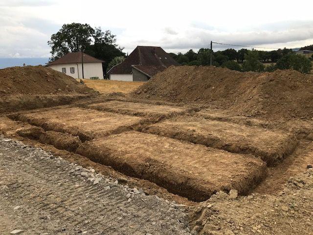 Les fondations creusées