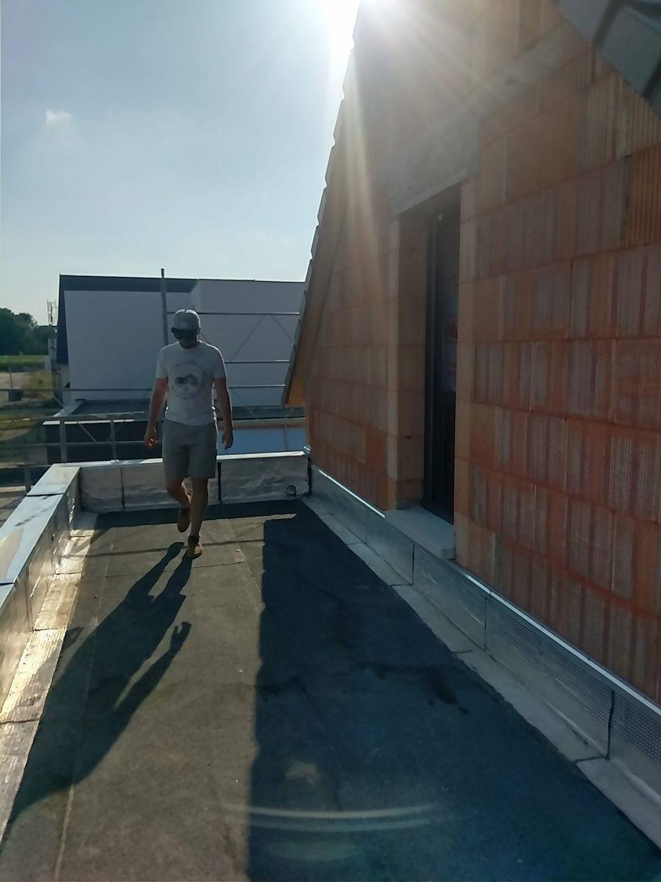 Etanchéité toit terrasse du garage