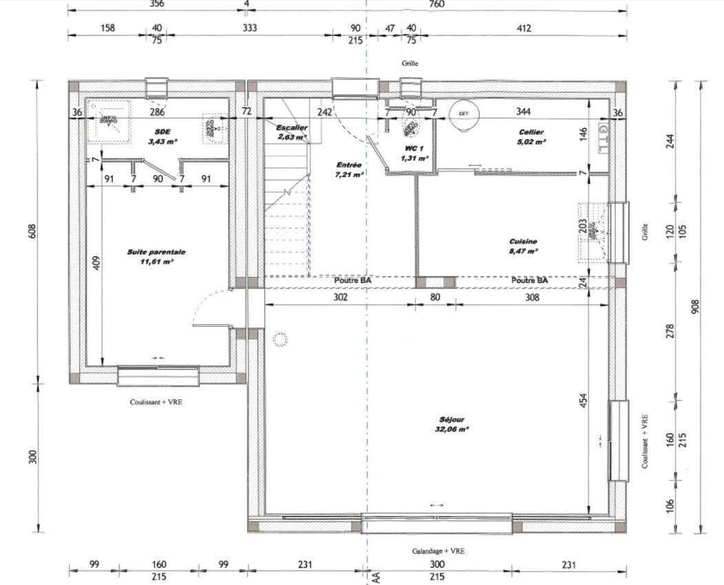 Plan V3 (Permis de Construire)